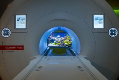 Mass General Yawkey Sentient MRI Patient Experience Suite with MRI Inbore Video