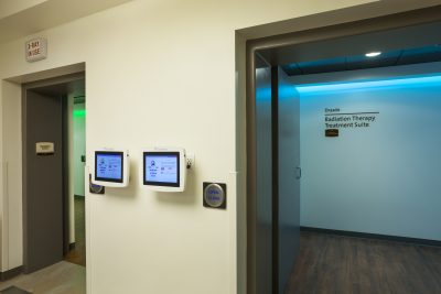 RidleyTree Cancer Center Sentient Radiation Therapy Suites for healing patient experience